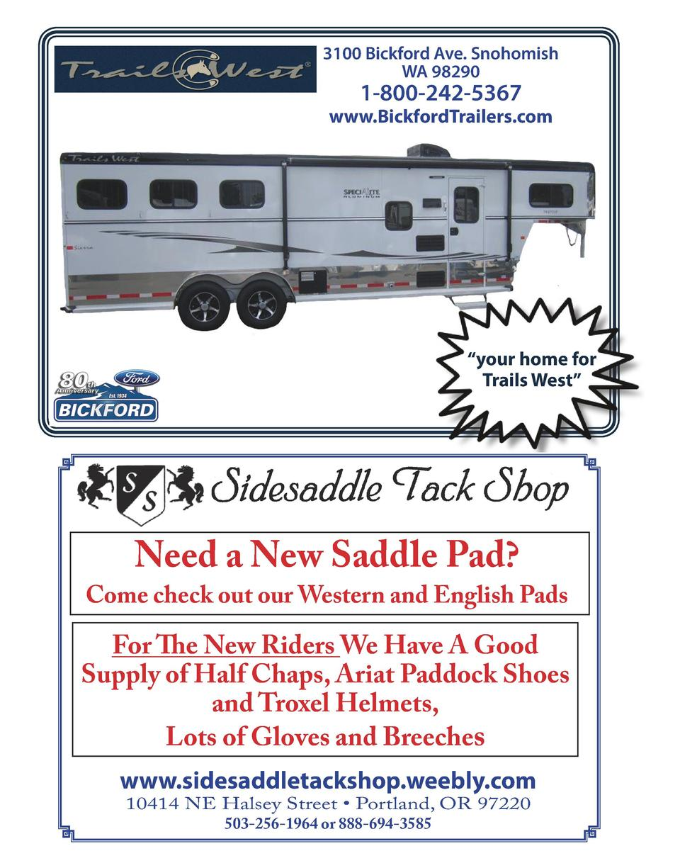 3100 Bickford Ave. Snohomish WA 98290  1-800-242-5367  www.BickfordTrailers.com     your home for Trails West     Need a N...
