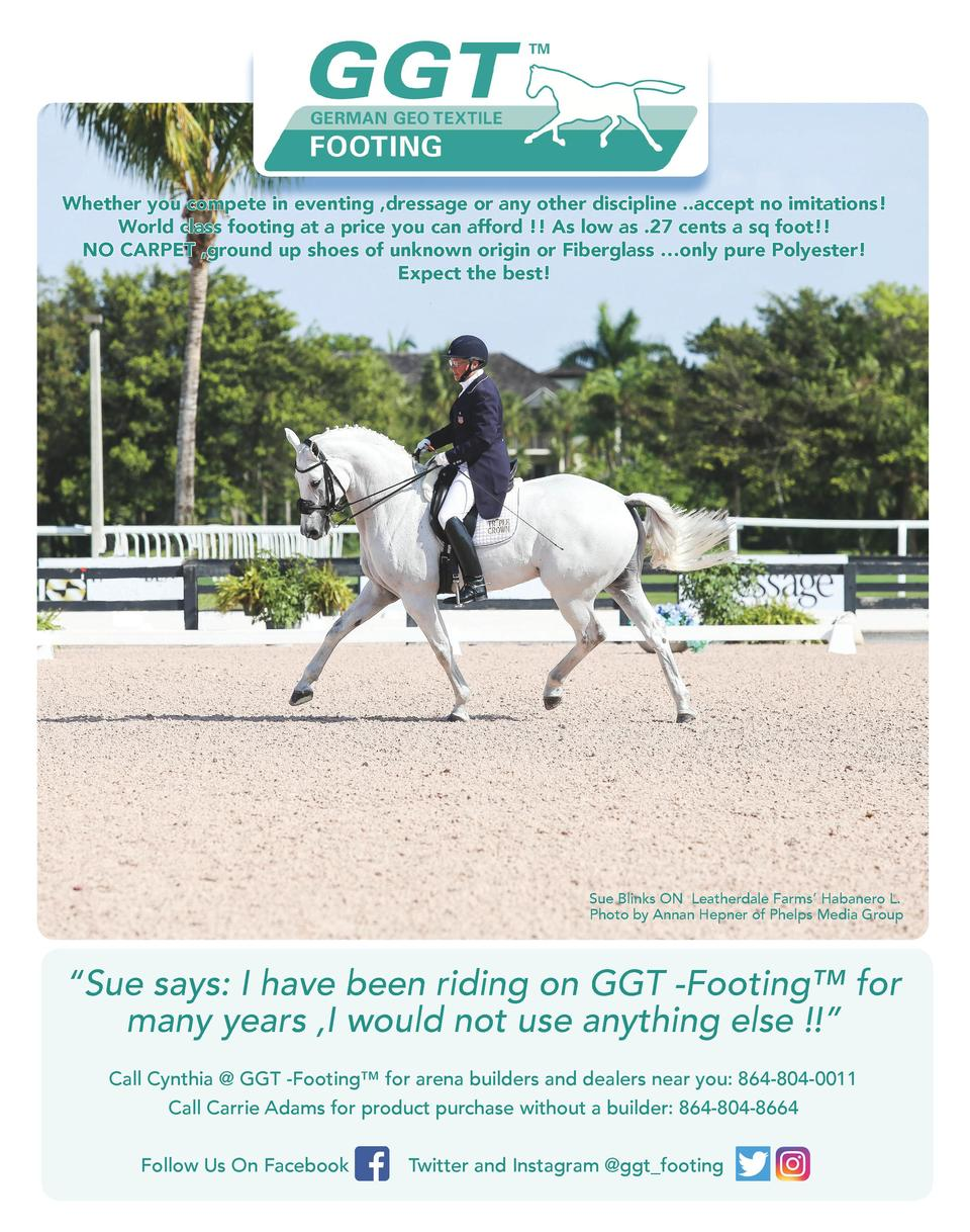 Whether you compete in eventing ,dressage or any other discipline ..accept no imitations  World class footing at a price y...