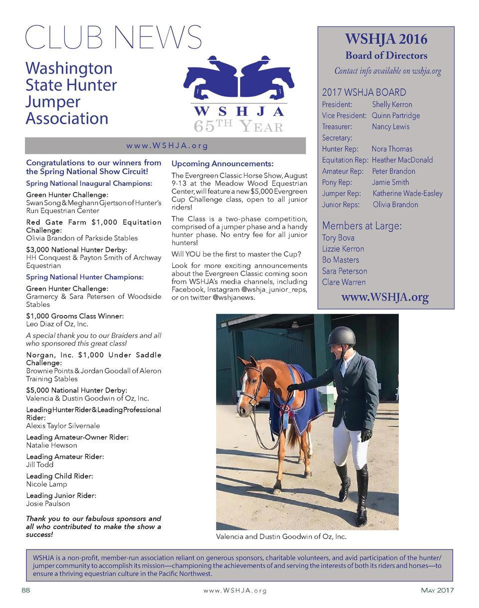 Buy depo provera for horses.doc - Club News Washington State Hunter Jumper Association Wshja 2016 Board Of Directors Contact Info Available On